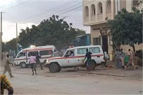 somalia at least 16 people die in suicide bombings
