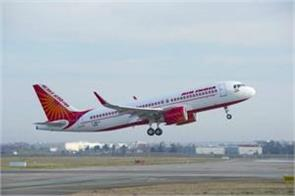 air india crew member flown from the plane seriously injured