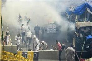 march of farmers ending in delhi