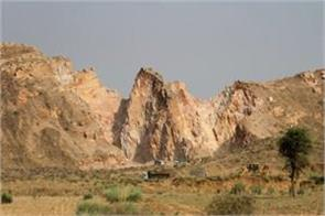 sc asks rajasthan government how 31 mountains missing