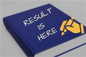 ssc je exam 2017 result declared