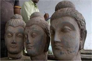 police seized ancient idols of buddha in pakistan