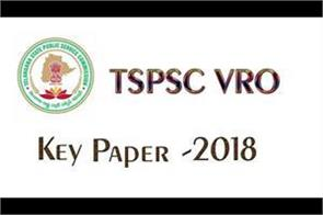 tspsc vro final answer key