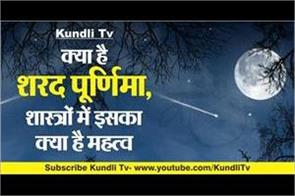 what is sharad purnima