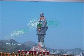 statue of unity pm modi inaugurated the world s tallest statue