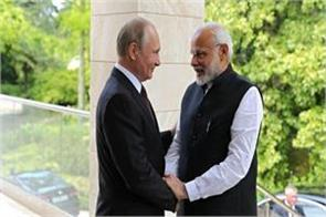 russian president putin 4 october on india tour may be india get s 400