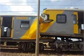 collision between two trains in south africa 300 injured
