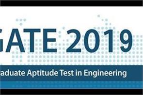 gate 2019 exam registration