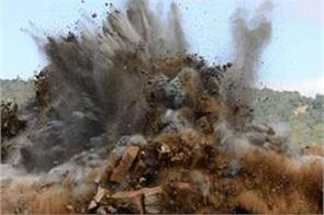 man injured in mine blast in poonch