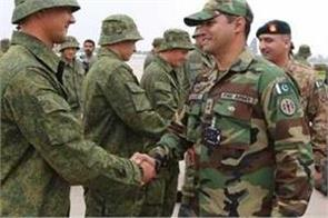russian pakistani soldiers to hold military drills next week