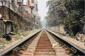 here people are laying down on the railway track the reason is unique