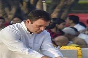 rahul gandhi tweet on mahatama gandhi anniversary