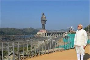 statue of unity pm modi s answer to critics