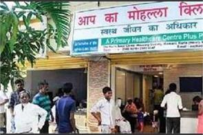 600 posts including pharmacists will be filled in delhi mohalla clinics