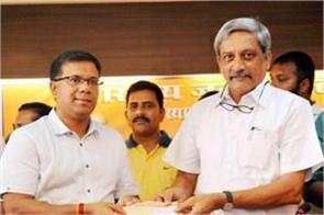 congress claim vishwajit rane wanted to the parrikar government