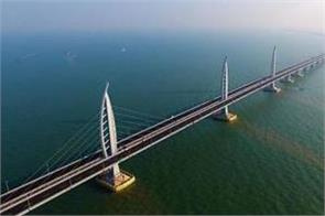 world s longest sea bridge between china hong kong will start from 24 oct