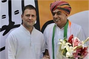 jaswant singh s son manvendra join congress