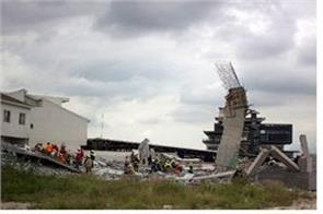 mexico dropped under construction mall 7 dead 9 missing in monterrey city