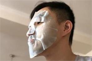 china cab driver suspended for wearing skincare mask