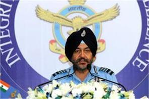 air force chief speaking on rafale deal