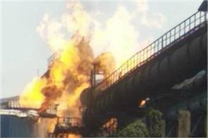 chhattisgarh gas pipeline fired at bhilai steel plant 8 killed