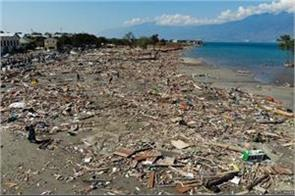 earthquake in indonesia the number of people killed in tsunami was 1 424