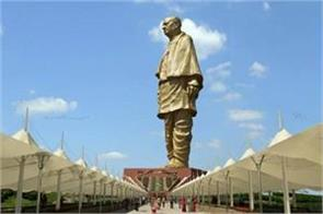 statue of unity patel s statue can suffer earthquake shocks