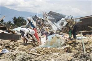 people killed in earthquake in indonesia increased to 1944 5000 still missing