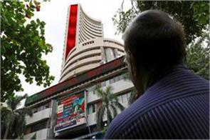 sensex down 341 points nifty closes at 10030