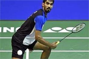 french open badminton srikanth in second round