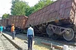 satna an accident near the meher outer road derailed
