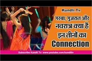 what is connection of garba gujarat and navaratr