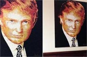 no one wanted trump s portrait so his charity had to buy it