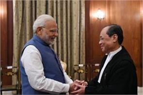 pm modi congratulates justice gogoi on becoming cji