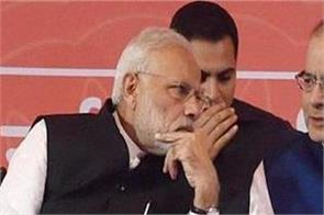 modi worries about 4 states elections