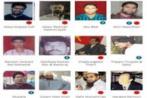 these are the 258 foes of india the list released by nia