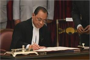 cji gogoi in action mode in first day of supreme court