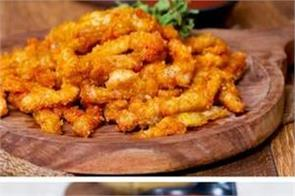 easy to make homemade chicken  and paneer kurkure
