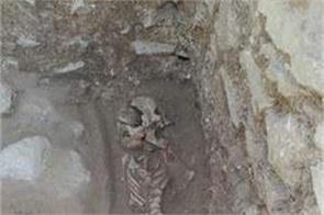 archaeologists find vampire burial site of child