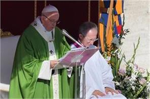 pope welcomes chinese bishops