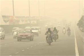 air poluted in gurugram haryana