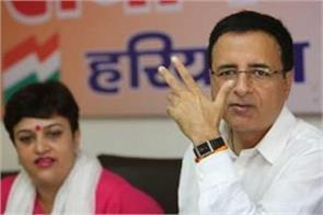 congress narendra modi randeep surjewala chhoturam