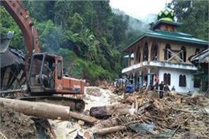 22 killed 15 missing in indonesia floods and landslides