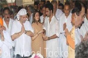 bollywood celebs reach krishana kapoor to pay tribute