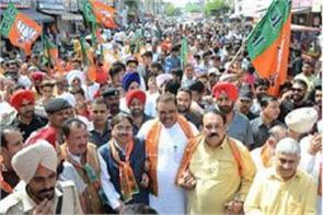 bjp will not remain silent on atrocities of congress shwet malik