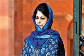 manan wani s death is a big loss said mehbooba