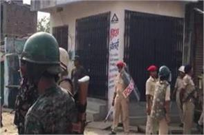 two group clashes during statue immersion
