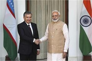 17 agreements between india uzbekistan take relations to new heights