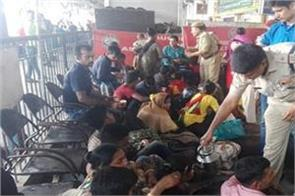 bangladeshi nationals living illegally caught on guwahati station