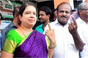 jds will fight with congress anita kumarsaswamy